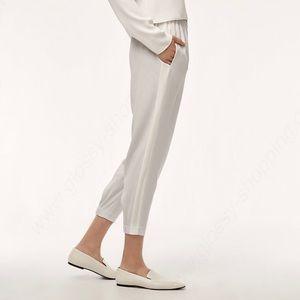 Babaton dexter pants with white stripe